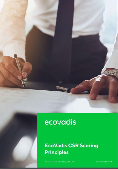 EcoVadis CSR Scoring Principles