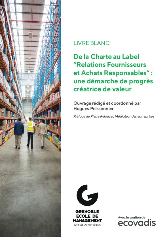 """De la Charte au Label """"Relations Fournisseurs et Achats Responsables"""":"""